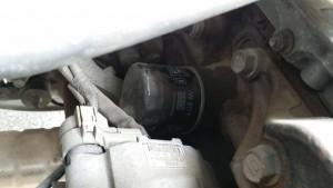 old oil filter